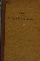 Catalogus Florae Ludovician