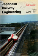 Japanese Railway Engineering