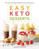 Easy Keto Desserts Pdf/ePub eBook