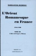 Pdf L'Orient romanesque en France Telecharger