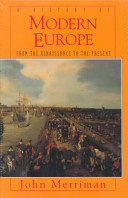 Cover of A History of Modern Europe