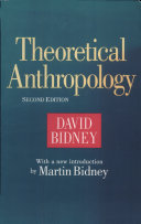 Theoretical Anthropology Pdf/ePub eBook