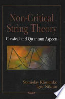 Non critical String Theory