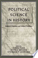 Political Science in History  : Research Programs and Political Traditions