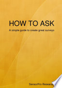 How to ask Book PDF