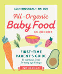 All-Organic Baby Food Cookbook Pdf/ePub eBook