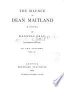 The Silence of Dean Maitland Book PDF
