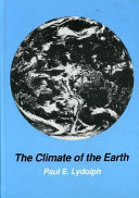 Pdf The Climate of the Earth
