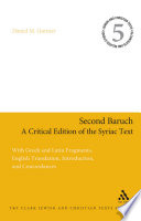 Second Baruch: A Critical Edition of the Syriac Text