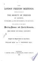 The London Friends  Meetings