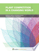 Plant Competition in a Changing World