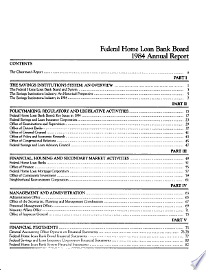 Annual+Report+of+the+Federal+Home+Loan+Bank+Board+for+the+Calendar+Year