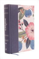 NIV, the Woman's Study Bible, Cloth Over Board, Blue Floral, Full-Color
