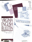 Virginia English Bulletin
