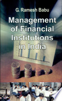 Management Of Financial Institutions In India