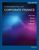 Fundamentals of Corporate Finance 4th Edition Asia Edition