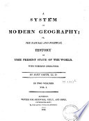 A System Of Modern Geography
