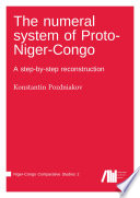 The numeral system of Proto Niger Congo