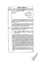 Historical Collections Of Private Passages Of State Weighty Matters In Law Remarkable Proceedings In Five Parliaments Beginning The Sixteenth Year Of King James Anno 1618 And Ending The Fifth Year Of King Charls Anno 1629