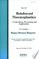 Reinforced Thermoplastics Book PDF