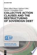 Collective Action Clauses and the Restructuring of Sovereign Debt Book