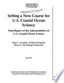Setting a New Course for U S  Coastal Ocean Science Book