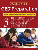 GED Preparation 2018   2019 All Subjects Study Questions
