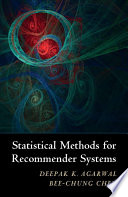 Statistical Methods for Recommender Systems