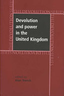 Devolution and Power in the United Kingdom