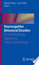 Neurocognitive Behavioral Disorders