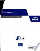 CFA Program Curriculum: Fixed income