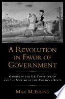 A Revolution in Favor of Government Pdf/ePub eBook