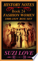 Fashion Women 1800 1819 Box Set Book