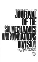 Journal Of The Soil Mechanics And Foundations Division Book PDF