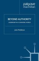 Beyond Authority