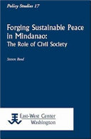 Forging Sustainable Peace in Mindanao