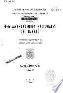 Reglamentaciones nacionales de trabajo