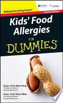 Kid s Food Allergies For Dummies Book