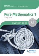 Books - AS And A Level Mathematics: Pure Mathematics 1 Practice Book | ISBN 9781444196337