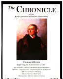 Pdf The Chronicle of the Early American Industries Association, Inc