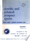 Scientific And Technical Aerospace Reports Book PDF