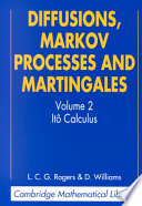 Diffusions Markov Processes And Martingales Volume 2 It Calculus