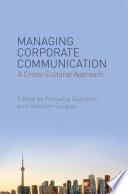 Managing Corporate Communication