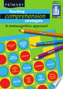Teaching Comprehension Strategies  Book E 9 10 years