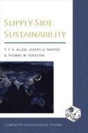 Supply side Sustainability
