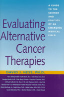 Evaluating Alternative Cancer Therapies
