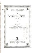 The Novels of Ivan Turgenev: Virgin soil Pdf/ePub eBook