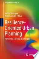 Resilience Oriented Urban Planning Book