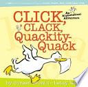Click  Clack  Quackity Quack