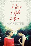 Pdf I Love I Hate I Miss My Sister Telecharger